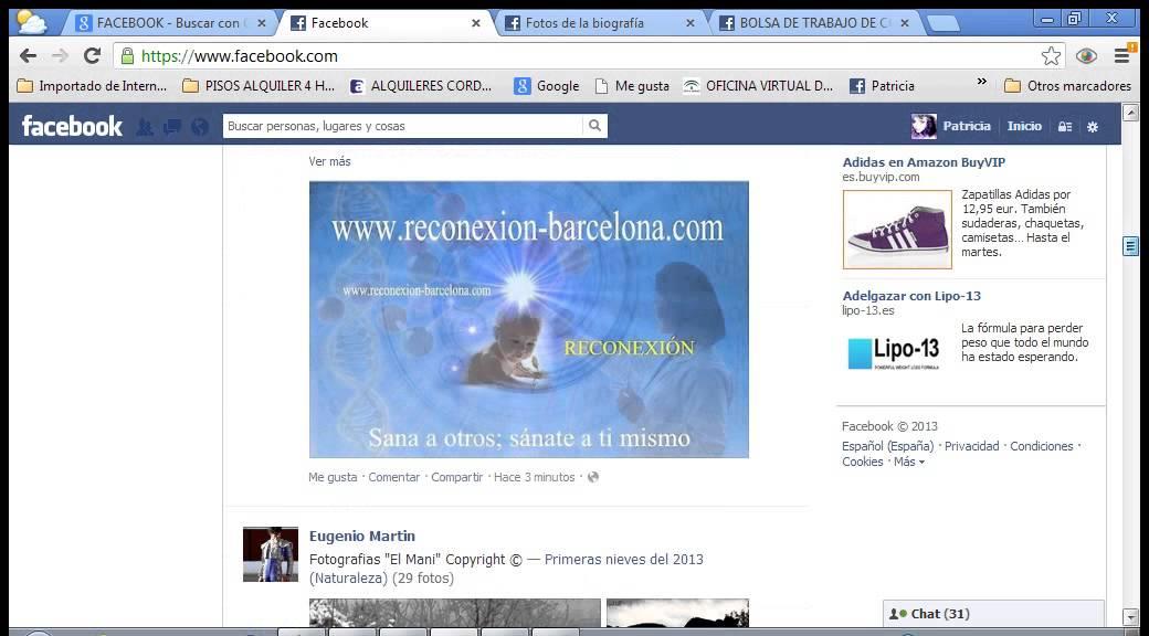 EL INICIO Y EL MURO DE FACEBOOK - YouTube