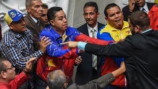 Импичмент Мадуро: в парламенте Венесуэлы потасовка (новости)