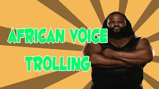 african voice trolling bo2 osama binladen pregnant racist lady