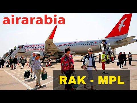 FLIGHT REPORT / AIR ARABIA AIRBUS A320 / MARRAKECH - MONTPELLIER