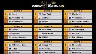 Calendario de la Copa MX para el Clausura 2018