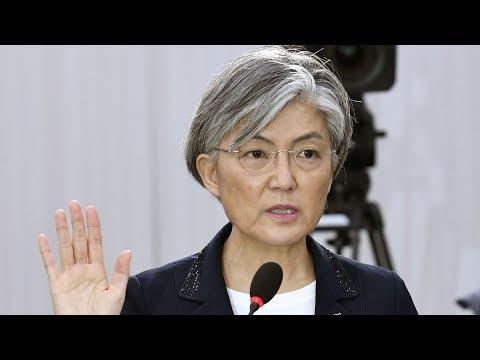 S. Korean president appoints first female FM despite opposition