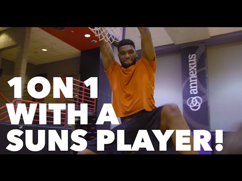 1 on 1 With An NBA Player!!