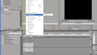 Как работать в Adobe Premiere Pro CS3 media