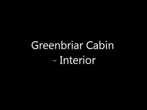 Greenbriar Cabin Interior @ Hocking Hills