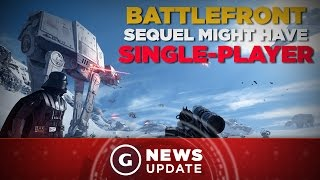 EA Explains Why Star Wars Battlefront Didn't Have Single-Player and Teases Sequel Might - GS News…