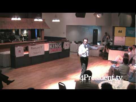 Tim Pawlenty Story City Iowa July 6 2011 part one