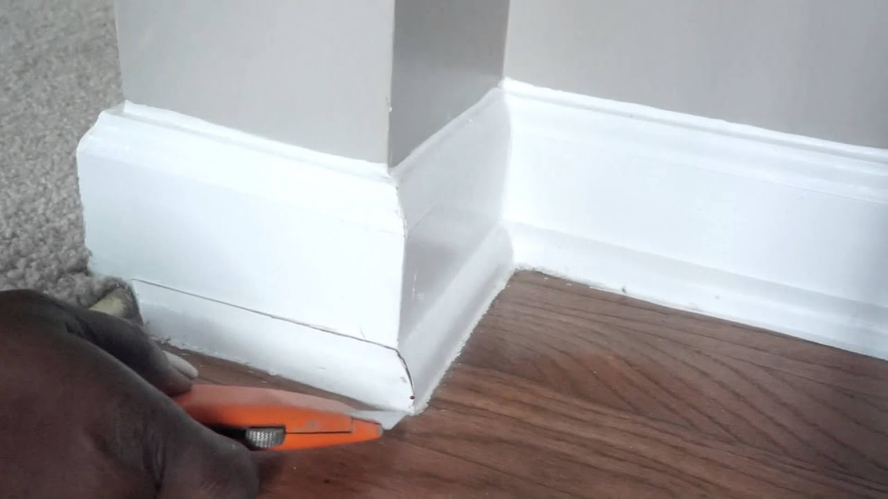 How To Remove Shoe Moulding Youtube