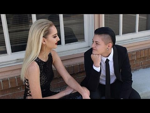 Lesbian Teens Become First Prom King & Queen EVER