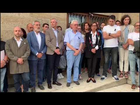 """Valga se une contra la """"barbarie"""""""