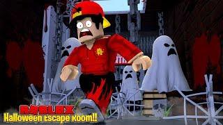 ROBLOX - Escape Room | HALLOWS EVE!!!