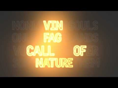 VINFAG - CALL OF NATURE (OFFICIAL LYRIC VIDEO)