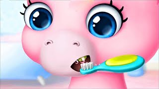 Pony Sisters Baby Horse Care Baby Pony Gameplay Video For Kids