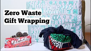Gift Wrapping with Reusable Materials | Zero Waste Gift Wrapping