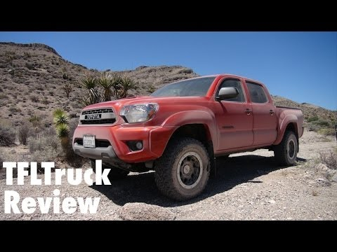 2015 Toyota Tacoma TRD Pro Off-Road First Drive Review