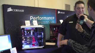 Graphite 760T with Corsair George!  - CES 2014