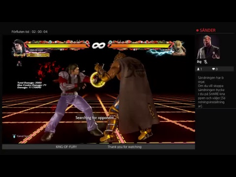 KING-OF-FURY Tekken 7  rank match live tv game