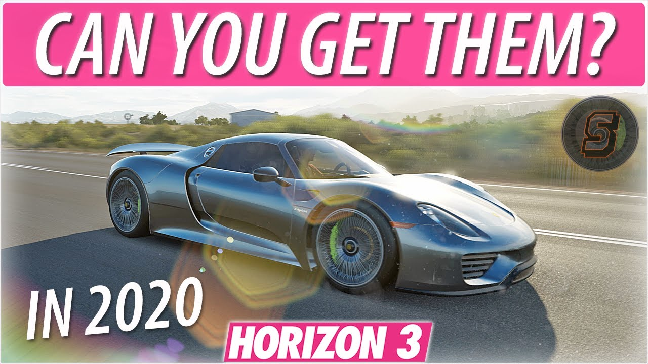 Download Forza Horizon 3 FORZATHON EXCLUSIVE CARS in 2020 | FH3 Gameplay + End Of Life September 2020