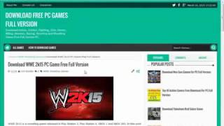 How To Download WWE 2K15 Game For PC Full Version