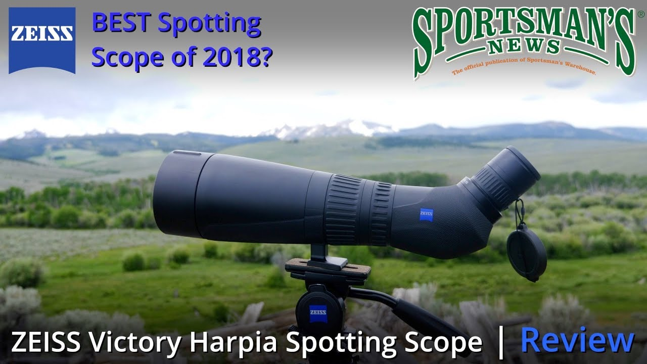 Zeiss victory harpia spotting scope youtube
