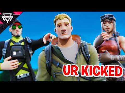 KICKING Members From Our Fortnite Clan (They Cried)