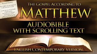 Holy Bible: Matthew 1 to 28 - Full (Contemporary English) With Text
