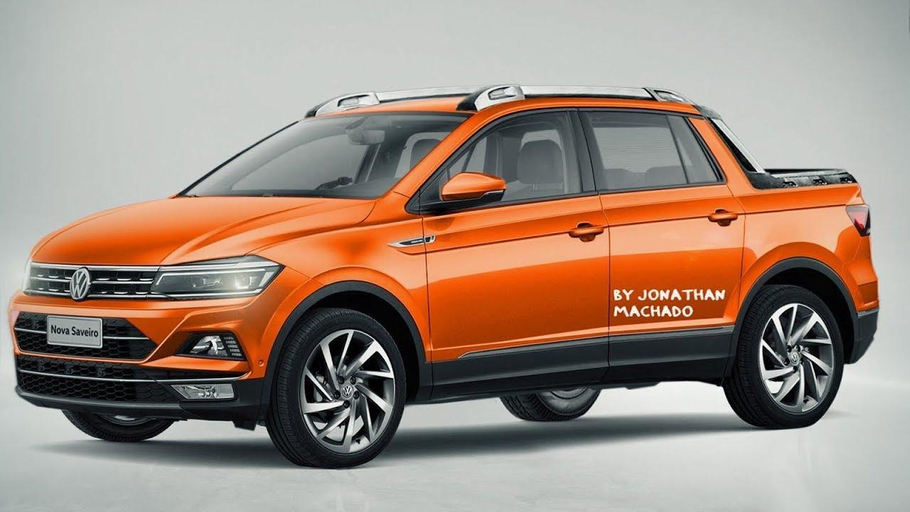 RENDER Nova Volkswagen Saveiro 2020 Cabine Dupla 4 portas ...