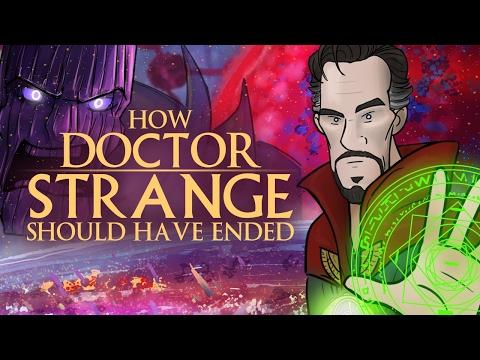 איך דוקטור סטריינג' היה אמור להסתיים