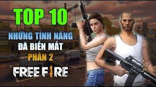 Free Fire | TOP 10 điều đã biến mất hoàn toàn trong Free Fire (PHẦN 2) | Rikaki Gaming