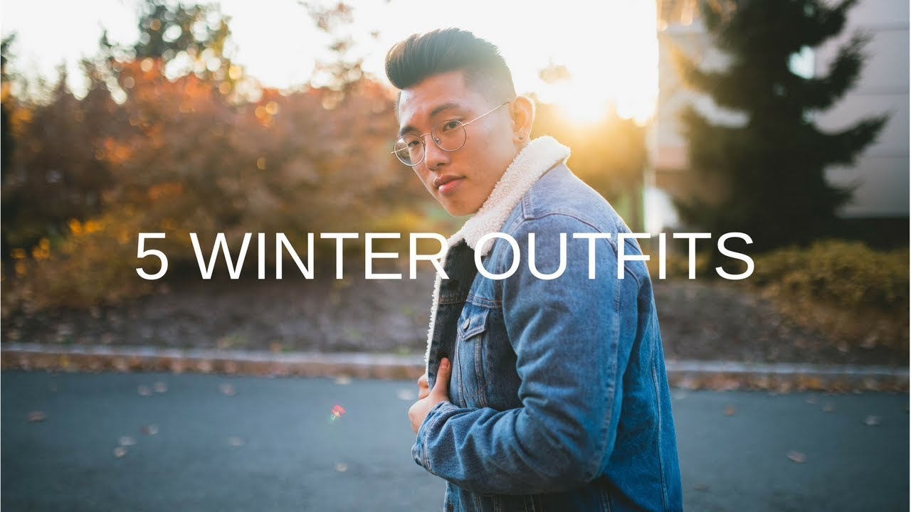 5 WINTER OUTFITS 1