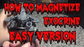 How to Magnetize A Tyrąnid Exocrine / Haruspex Very Easy (Only 3 magnets)