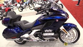 2019 Honda Goldwing Tour DCT - Walkaround - 2018 AIMExpo Las Vegas