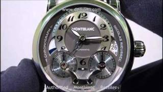 MB 102337 montblanc star  nicolas rieussec chronograph gmt