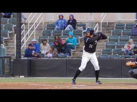 Jameson Fisher Open Side, Swings Then Bunt For Hit, 5-6-2017