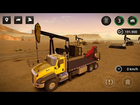 Construction Simulator 2 — BRING A DELIVERY TO THE OIL FIELD