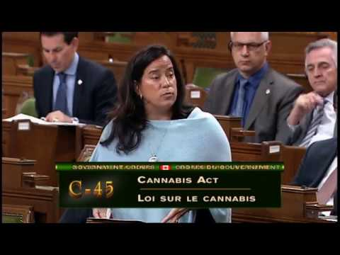 House of Commons Second Reading of Bill C45 - Cannabis Act