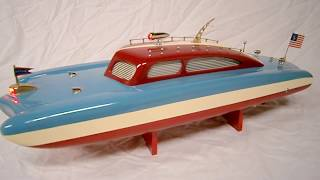 Ito Sea Sled 21in. By R-c Craft Wood Toy Boat
