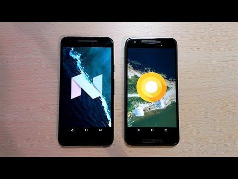 Nexus 5x Oreo 8.0 vs Nexus 5x Nougat 7.1.2 | Speed Test!