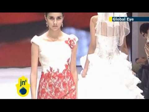 China Fashion Week Beijing wedding dresses