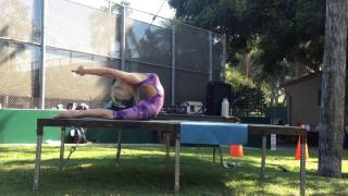 Yoga in the Park Demo with Kim Tang