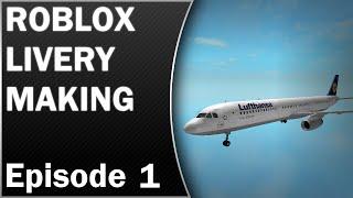 Roblox livery fazer: Lufthansa Airbus A321