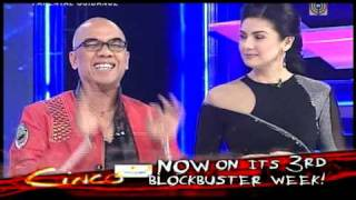 Cinco now on its 3rd blockbuster week! (Tito Boy, Charlene, Toni, KC on The Buzz)