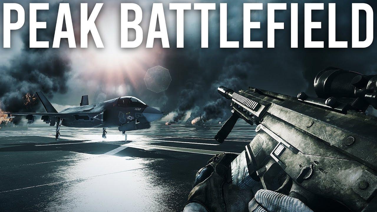 Battlefield 3 war Peak Battlefield + video