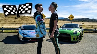 LAMBORGHINI VS GUACZILLA 2.0 RACE ($50,000 REMATCH VS TANNER FOX)
