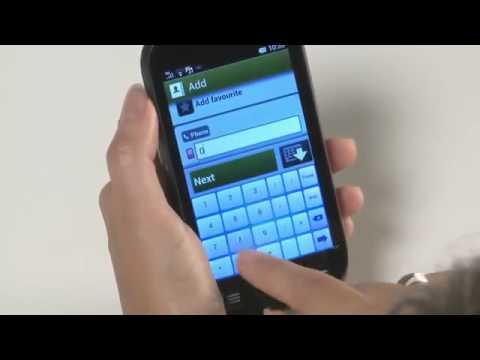 Doro Liberto® 810 Tutorial: Add new contact