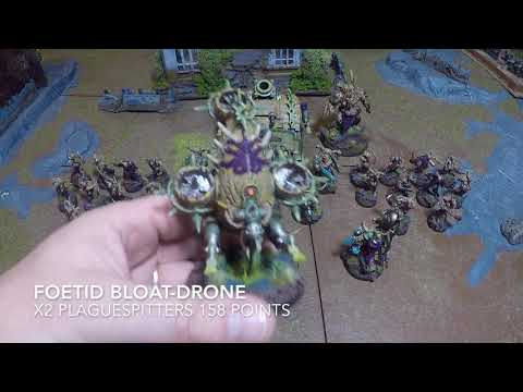 40k Death guard tactics and list building 8th edition