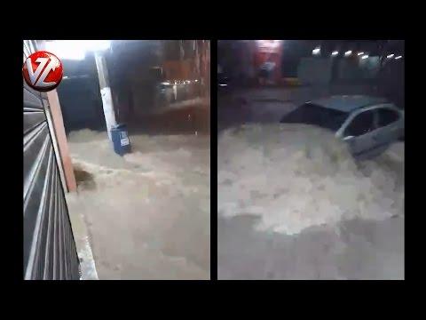 Enchente causa prejuízos e pânico em Barra Mansa