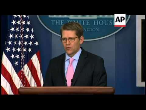 White House briefing indian missile test, Syria observers