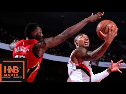 New Orleans Pelicans vs Portland Trail Blazers Full Game Highlights | 11.01.2018, NBA Season