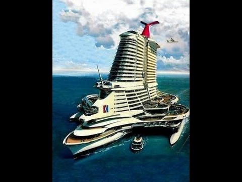 The Biggest Most Amazing Cruise Concepts Ever YouTube - Biggest and best cruise ships